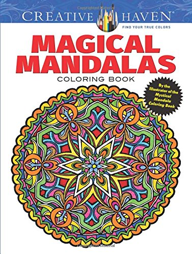 Magical Mandalas Coloring Book