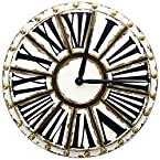 Round Wood Wall Clock