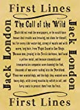 Parchment Style Card Greetings Card 14cm x 10cm Literary First Lines Jack London The Call of the Wild