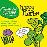 Suttons Seeds 170080 Fun to Grow Happy Herbs Collection