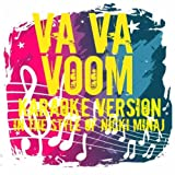 Va Va Voom (In The Style Of Nicki Minaj) [Karaoke Version]