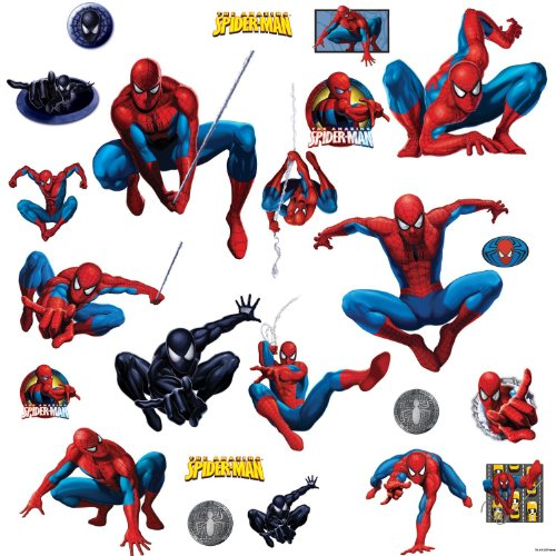 Amazing Spider-Man Peel And Stick Wall Sticker front-1051229
