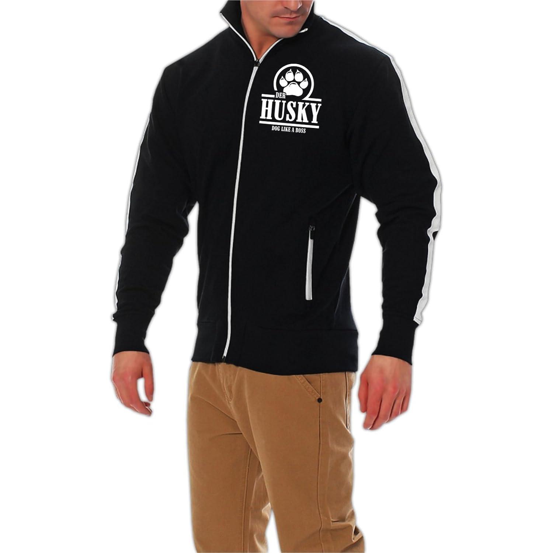 Männer und Herren Streifenjacke Husky BOSS (mit Rückendruck) bestellen
