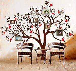 Adesivo murale wall art albero dei ricordi misure for Adesivi per pareti cucina