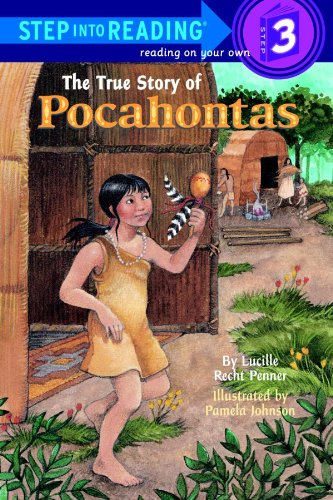 The True Story of Pocahontas (Step into Reading), Buch