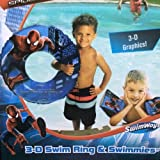 The Amzing Spider-man 2 (3-D) Swim Ring And Swimmies