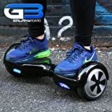 GalaxyBoard,Self Balancing Hoverboard-2 Wheel Scooter.2 Year Manufacturers Warranty. Samsung Lithium Ion Battery, Ships From The USA! (Blue)