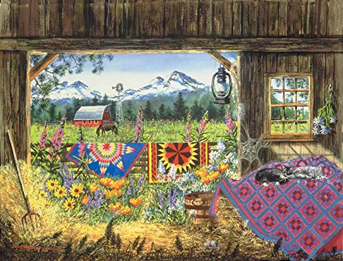Diane Phalen Hole In The Barn Door 500 Piece Jigsaw Puzzle