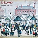 L.S. Lowry Wall Calendar 2016