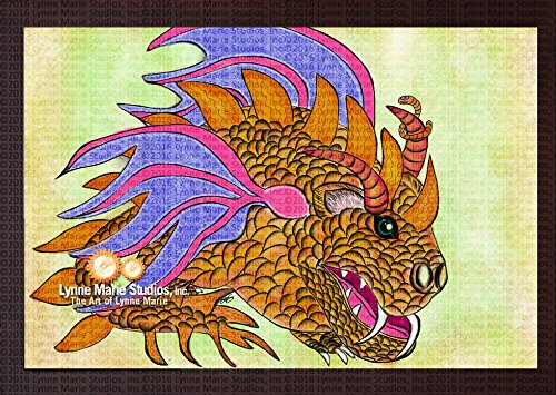 Print - Dragon Wombaticus Dragon And Ernie The Earthworm 13