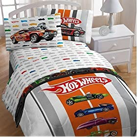 Exceptional Front. Hot Wheels Full Bed Sheet ...