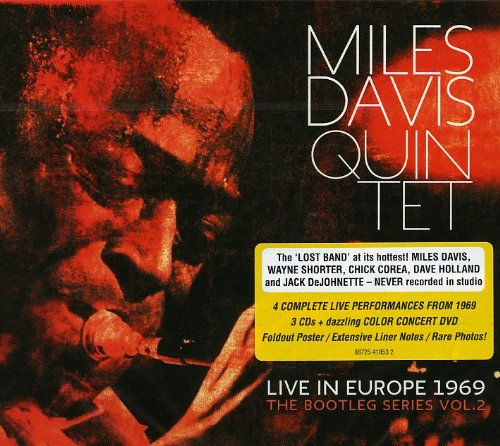 Live In Europe 1969: The Bootleg Series Vol 2(3 CDs  1 DVD) by Miles Davis
