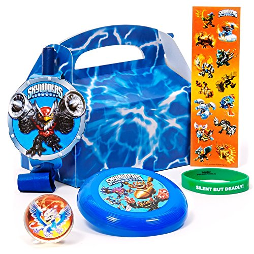 Skylanders Filled Party Favor Box