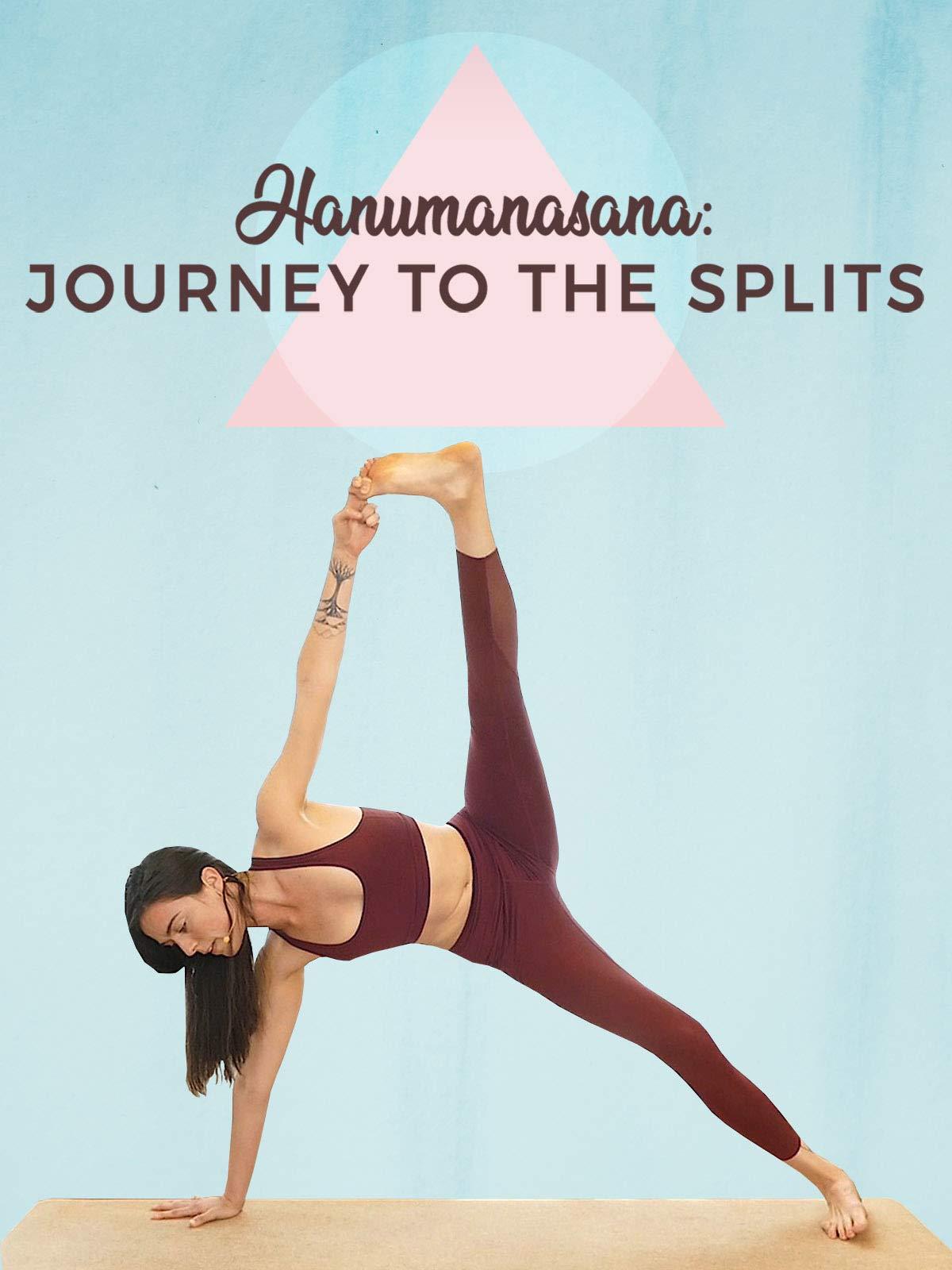 1 Hour Intermediate Flow - Hanumanasana - Journey To The Splits