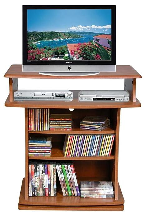 TV Swivel Cabinet Oak