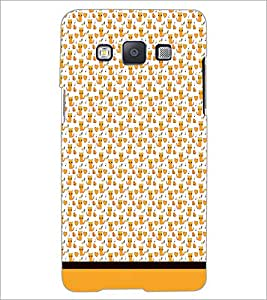 PrintDhaba Kitty pattern D-1779 Back Case Cover for SAMSUNG GALAXY A5 (Multi-Coloured)
