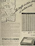 1936 Ad Pitney-Bowes Metered Mail Equipment Postage - Original Print Ad