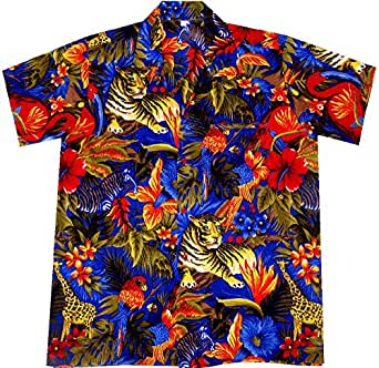 Hawaiian shirt Jungle Party size M