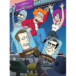 Futurama  : L'intégrale Saisons 1 à 8 + 4 longs métrages