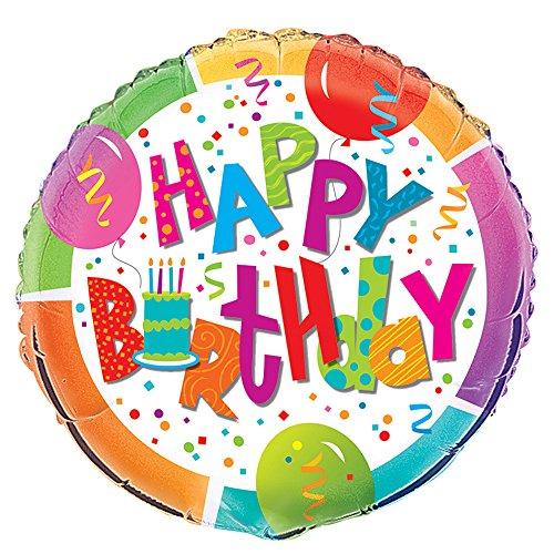 """18"""" Foil Birthday Jamboree Balloon - 1"""