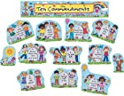 Teacher Created Resources Children's Ten Commandments Bulletin Board Display Set (7000)