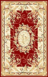 Safavieh Lyndhurst LNH328C Red 3' 3&quot; x 5' 3 Area Rug