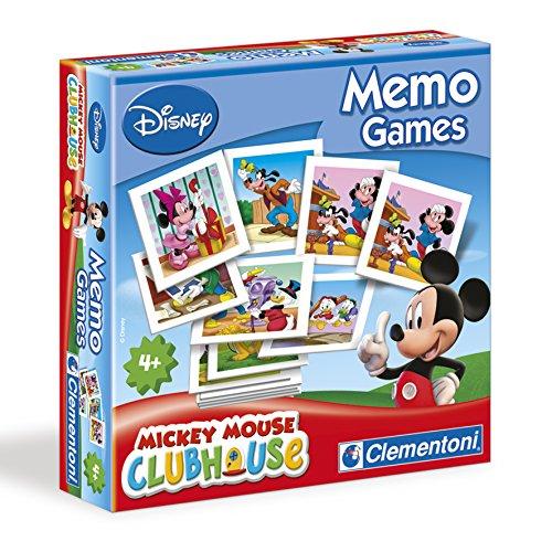 Mickey Mouse Club House - Memo, juego de memoria (Clementoni 117574)