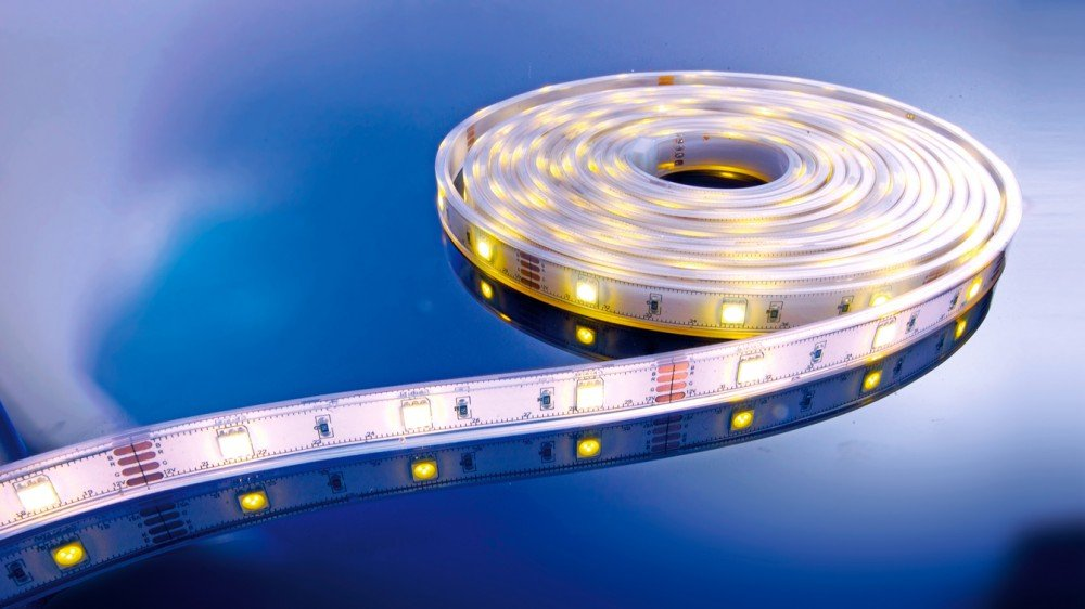 KapegoLED Flexibler Stripe, 5050, SMD, 12 V, DC, 36 W, warmweiß 840108