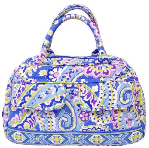 Vera Bradley Capri Blue Lola Tote Handbag