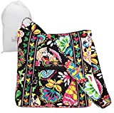 Disney Parks Vera Bradley Mindnight with Mickey Hipster Bag