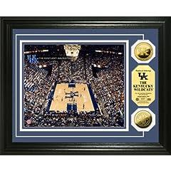 Highland Mint Kentucky Wildcats Rupp Arena 24KT Gold Coin Photo Mint Display by Highland Mint