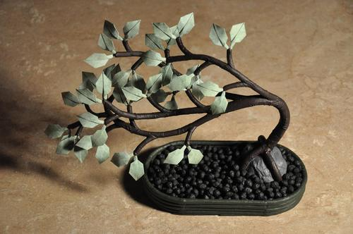 Click to buy Origami Bonsai: Create Beautiful Botanical Sculptures From Paper from Amazon!