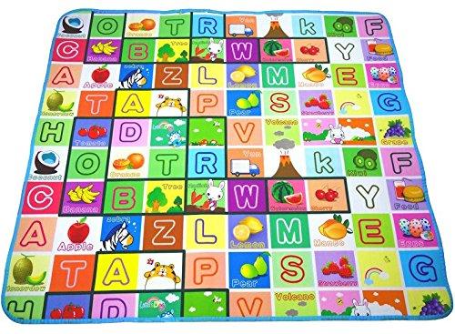 Spielmatte XL Alphabet 180 x 150 cm