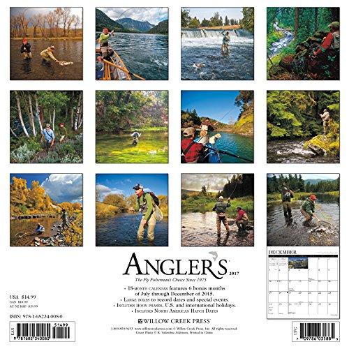 Angler's 2017 Wall Calendar