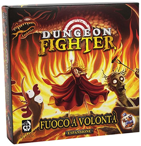 Cranio Creations - Dungeon Fighter Fuoco a Volontà, Espansione per Dungeon Fighter