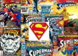 10 Out of Print Superman Comic Assortment - DC Comics