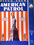 img - for American Patrol March book / textbook / text book