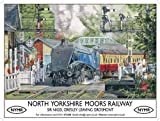 North Yorkshire Moors Railway metal sign (og 4030)
