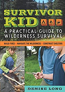 Book Cover: Survivor Kid: A Practical Guide to Wilderness Survival