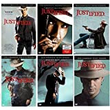 Justified : Complete Seasons 1- 6 Bundle Collection (18-Disc, DVD, 2015) The Final Season