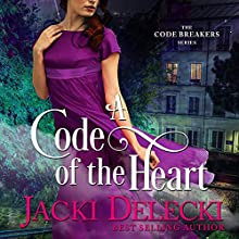 A Code of the Heart: The Code Breaker Series, Book 3 (       UNABRIDGED) by Jacki Delecki Narrated by Pearl Hewitt