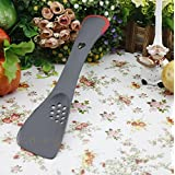 Junheng ® (5 In 1) New Silicone Kitchen Utensils And Appliances And Multi-function Cooking Spoon - (Color Random)