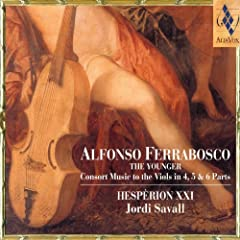 Alfonso Ferrabosco: Consort Music To The Viols In 4, 5 & 6 Parts