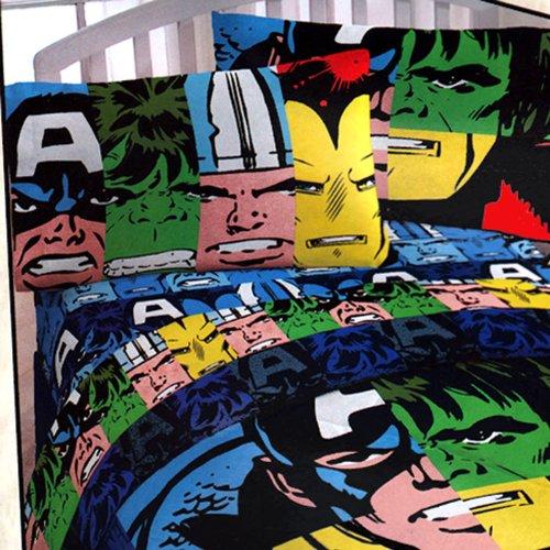 Superhero Bedding Twin 3749 front
