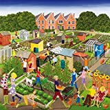 Wentworth New Jigsaw Puzzle 200 Pieces Louise Braithwaite - Allotments