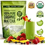 Matcha Green Tea Powder All Natural Weight Loss Metabolism Booster and Diet Smoothie Shake and Fat Burning Supplement 113 Grams Usda Organic Culinary