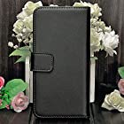 myLife (TM) Classic Black {Modern Design} Faux Leather (Card