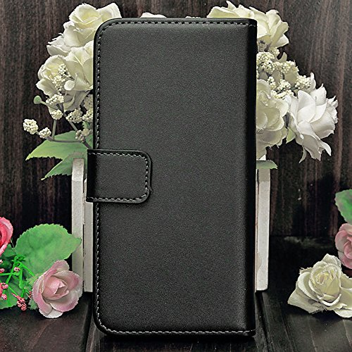 Mylife (Tm) Classic Black {Modern Design} Faux Leather (Card, Cash And Id Holder + Magnetic Closing) Slim Wallet For The All-New Htc One M8 Android Smartphone - Aka, 2Nd Gen Htc One (External Textured Synthetic Leather With Magnetic Clip + Internal Secure