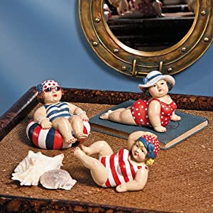 Amazon.com - Bathing Beauties Home Decor Figurines - Statues