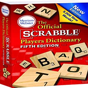 electronic scrabble dictionary 5th edition